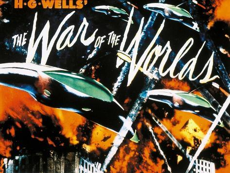 The War of the Worlds, 1953, Directed by Byron Haskin Giclée-Druck