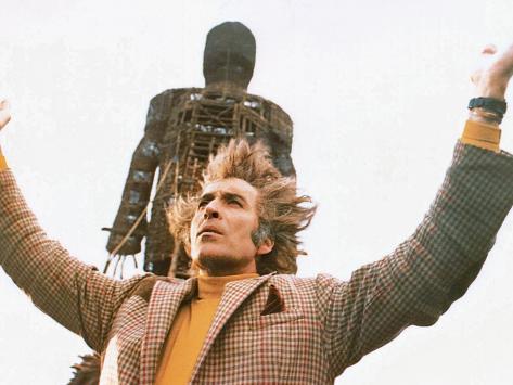 The Wicker Man, Christopher Lee, 1973 Foto