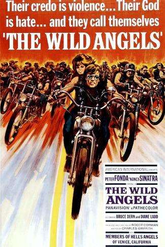 The Wild Angels, Peter Fonda, Nancy Sinatra, 1966 Kunstdruck