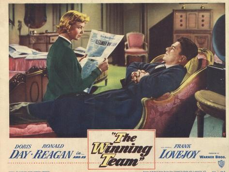 The Winning Team, 1952 Kunstdruck