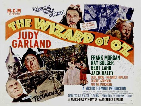 The Wizard of Oz, 1939 Kunstdruck