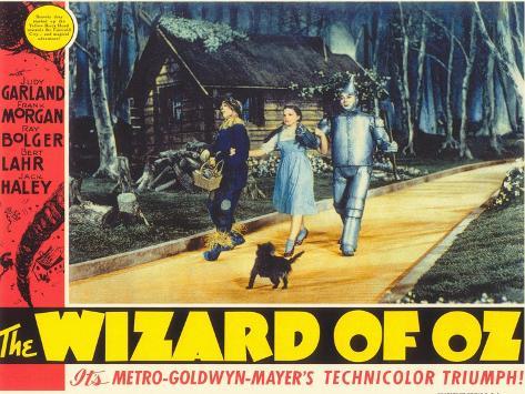 The Wizard of Oz, 1939 Kunstdruk
