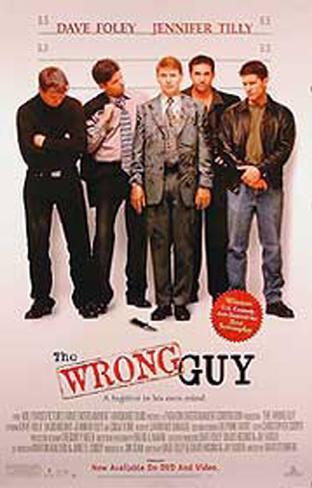 The Wrong Guy Originalposter