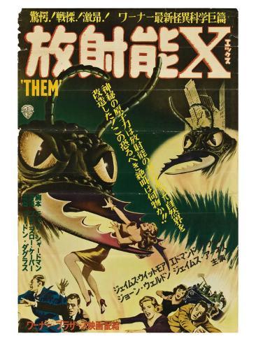 Them!, Japanese Movie Poster, 1954 Kunstdruck