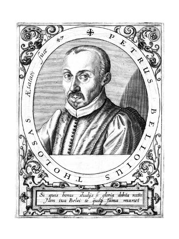 Pierre Belloi, Lawyer Giclée-Druck