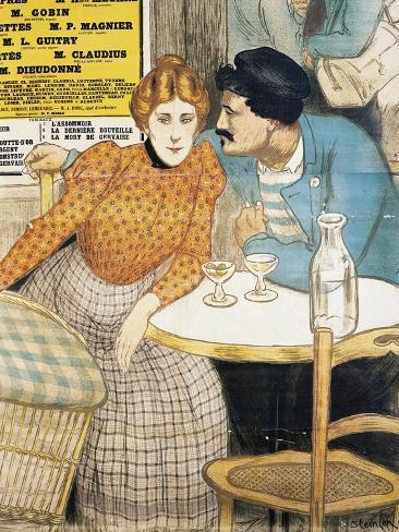 L'Assommoir, 1900 Poster Giclée-Druck