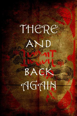 There And Back Again 4 Poster