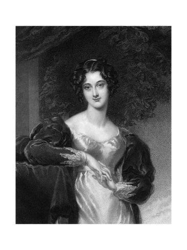 Maria Anne Ashley Giclée-Druck