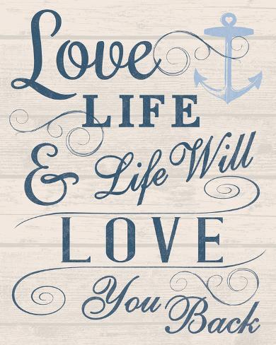 Love Your Life Gicléedruk Van Tom Frazier Bij Allpostersnl