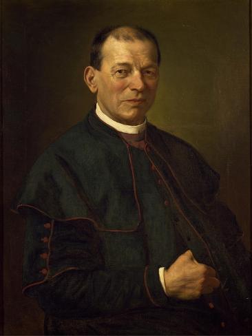 Portrait of Bishop Giovanni De Dona Giclée-Druck