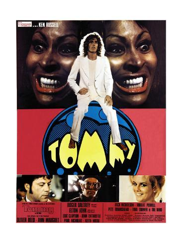 Tommy, Tina Turner, 1975 Giclée-Druck