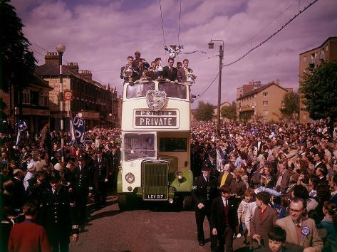 Tottenham Hotspurs Football Club F a Cup Winners 1961 Fotografie-Druck