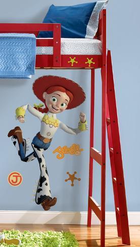 Toy Story - Jessie Peel & Stick Giant Wall Decals Muursticker