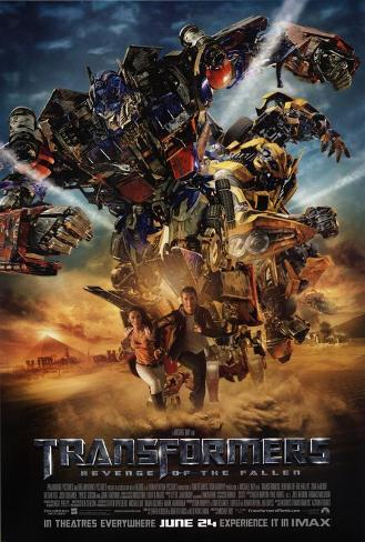Transformers 2: Revenge of the Fallen - UK Style Poster