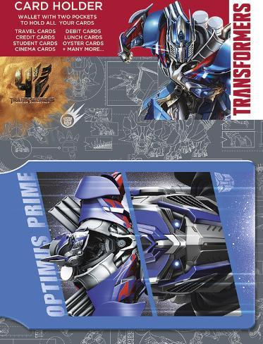 Transformers 4 - Optimus Prime Card Holder Neuheit