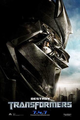 Transformers- Teaser Originalposter