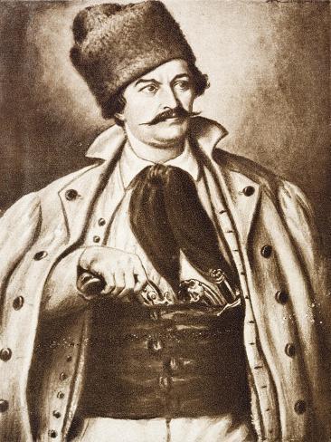 Transylvanian Romanian Lawyer Avram Iancu Giclée-Druck