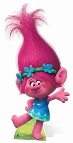 Trolls - Princess Poppy Pappfiguren