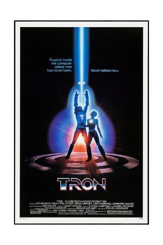 TRON, 1982 Kunstdruck