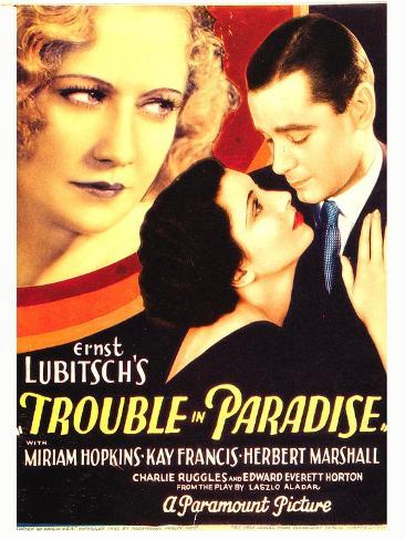 TROUBLE IN PARADISE Kunstdruck