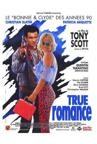 True Romance - French Style Poster