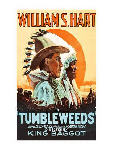 Tumbleweeds Kunstdruck