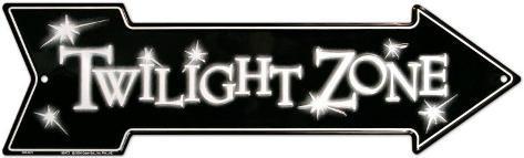 Twilight Zone Blechschild
