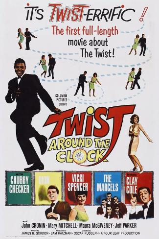 Twist around the Clock Kunstdruck