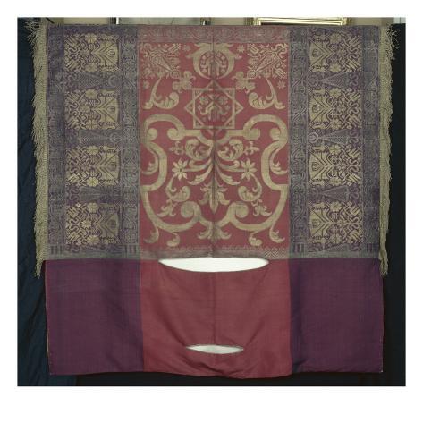 un grand capara on en tissu de soie housse de c r monie faisant partie d 39 un riche quipage de. Black Bedroom Furniture Sets. Home Design Ideas