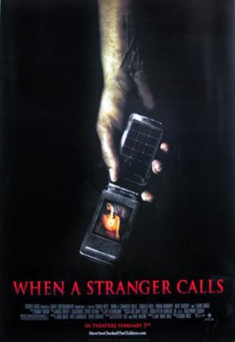 Unbekannter Anrufer Doppelseitiges Poster
