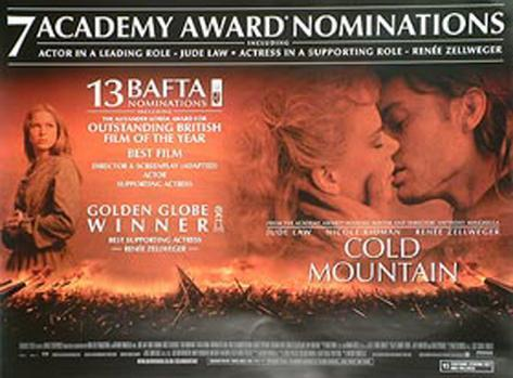 Unterwegs nach Cold Mountain Originalposter