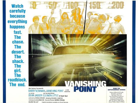 Vanishing Point, 1971, TM & Copyright © 20th Century Fox Film Corp./courtesy Everett Collection Kunstdruck