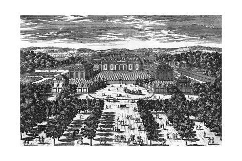 Versailles Grand Trianon Giclée-Druck