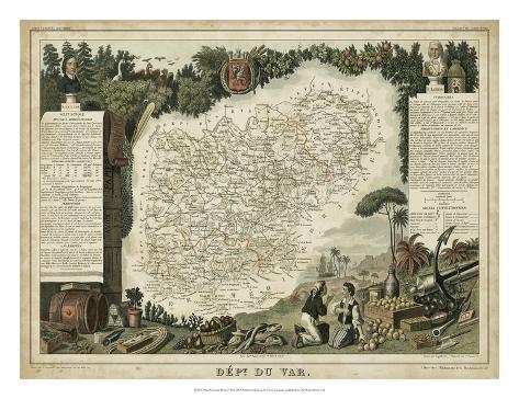 Atlas Nationale Illustre VII Giclée-Druck