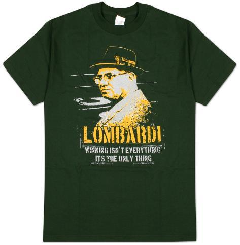 Vince Lombardi - Winning Isn't Everything, It's the Only Thing T-shirt