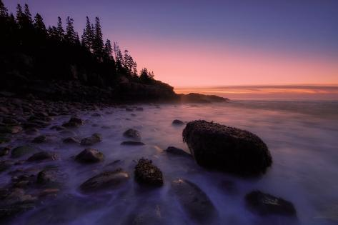 Dawn at Little Hunter's Beach Fotografie-Druck