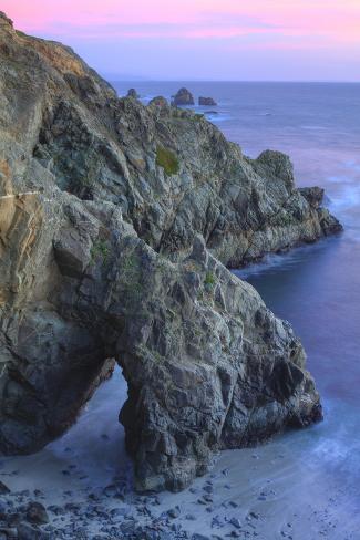 The Arch at Bodega Head Fotografie-Druck
