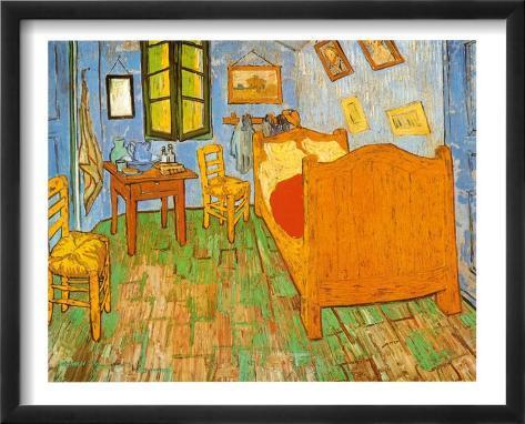 Schlafzimmer in Arles, ca. 1887 Kunstdrucke von Vincent van Gogh bei ...