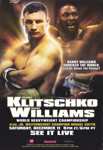 Vitali Klitschko vs Danny Williams Neuheit