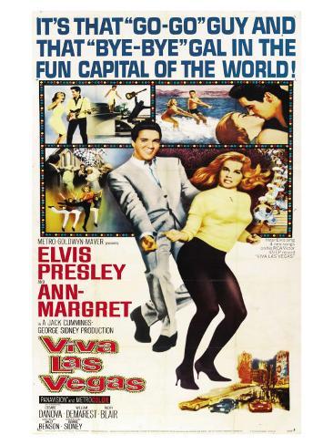 Viva Las Vegas, 1964 Kunstdruck