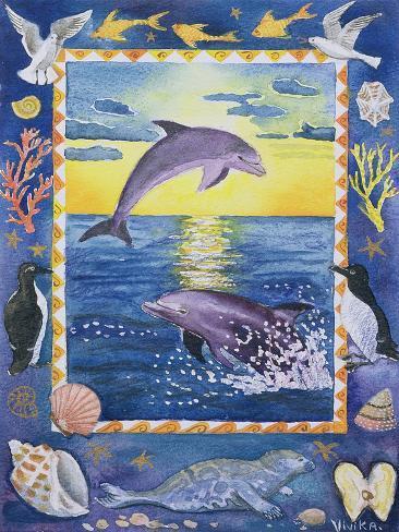 Dolphin, 1999 Giclée-Druck