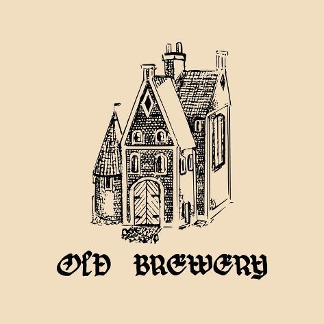 Vector Vintage Old Brewery Logo Hand Drawn Beer Symbol