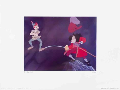 Walt Disney's Peter Pan: Hah! Pan! Kunstdruck