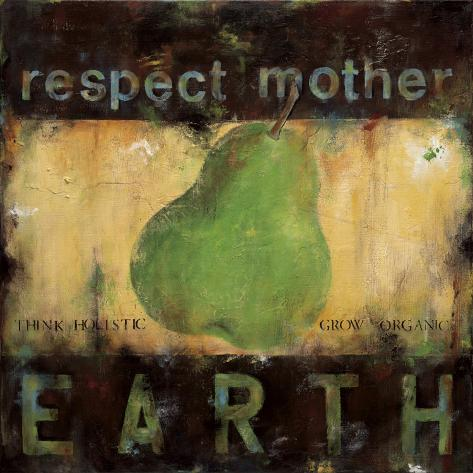 Respect Mother Earth Kunstdruck