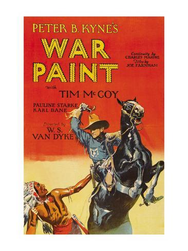 War Paint Kunstdruck