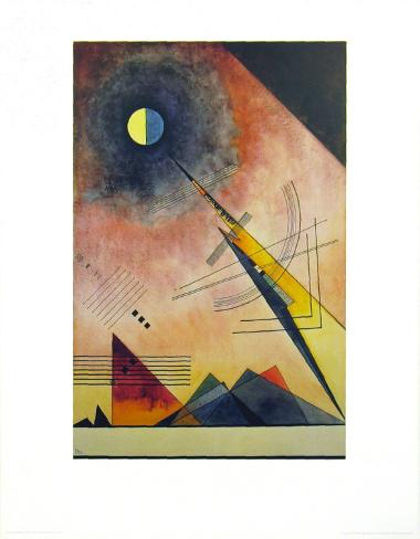 Hinauf 1925 Kunstdruck