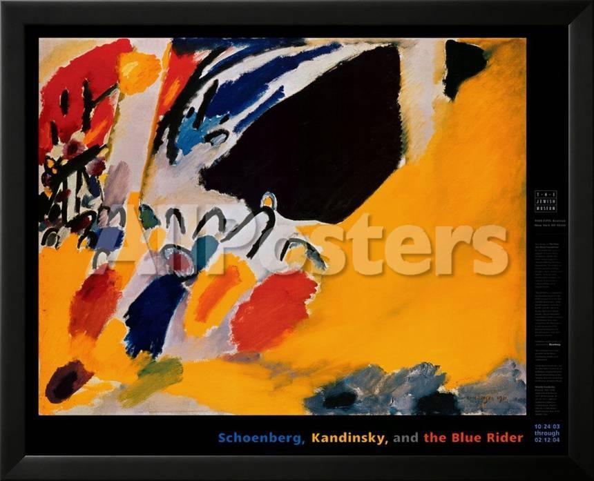 Impression III (Konzert), 1911 Kunst von Wassily Kandinsky bei ...