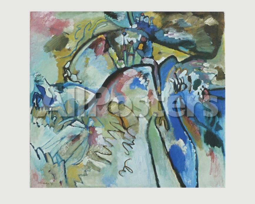 Improvisation 21 A , 1911 Sammlerdrucke von Wassily Kandinsky bei ...