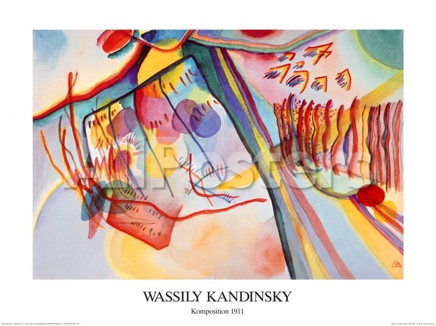 Komposition, c.1911 Kunstdrucke von Wassily Kandinsky bei AllPosters.de