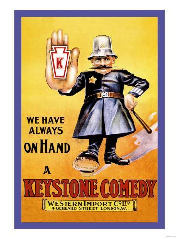 We Have Always on Hand a Keystone Comedy: Western Import Company Kunstdruck